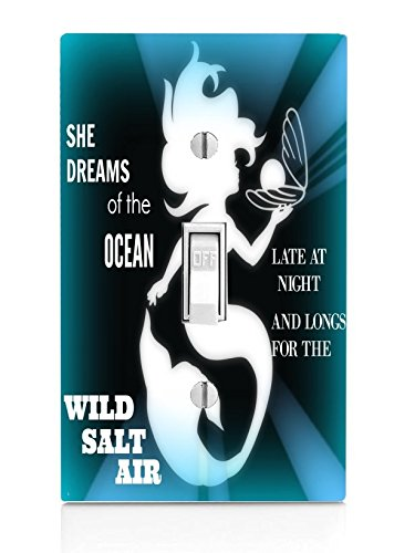 The Little Mermaid Silhouette Inspirational Quote Design ...