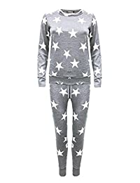 OgLuxe Womens Star 2pcs jogging suit