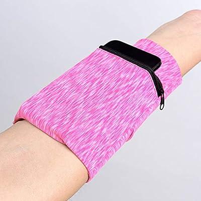 Multifunctional Wrist Band Zipper Ankle Wrap Sport Wrist Strap Wallet Storage