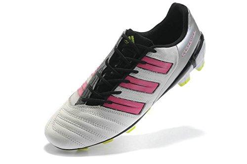 Adipower Predator TRX Fg Women's Cleat - Sz 6.5 - White/pink