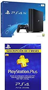PlayStation 4 Pro (PS4) - Consola de 1 TB + PSN Plus Tarjeta 90 ...
