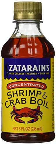 ZATARAINS Crab and Shrimp Boil Liquid, Concentrated, 8-Ounce