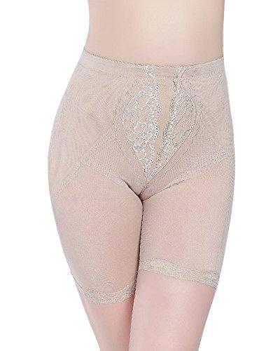 Contenitive Mutande Elastiche Liangzhu Trasparente Pancia Slip Nudo Pantaloncini Donna I7IxZz