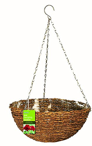 Greatest Amazon.com: Gardman R450 Rustic Rattan Hanging Basket, 14  AF32