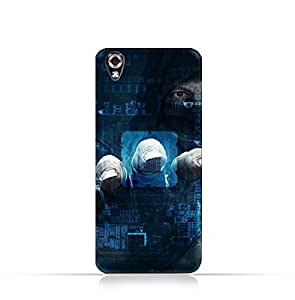 LG U TPU Silicone Case With Dangerous Hacker Design