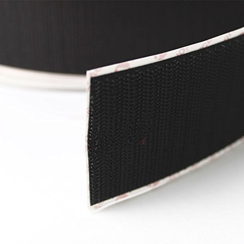 VELCRO® brand PS14 Self Adhesive Sticky Back Tape Strip One Sided HOOK Black 25mm - 5 mtr Hilltop Products Ltd