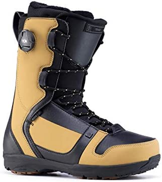 Ride Snowboards 2020 Men's Triad Traditional Lace Snowboard Boots (Camel, 10.5)