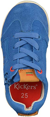 Kickers Baskets BB Mixte 18 Lightbleu Bébé H1HxwF4q