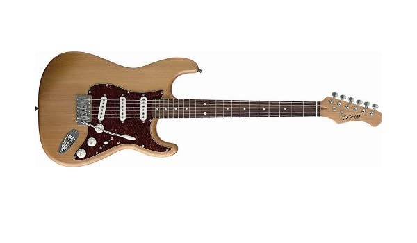 Stagg – Guitarra eléctrica – Principiantes Instrumento ...