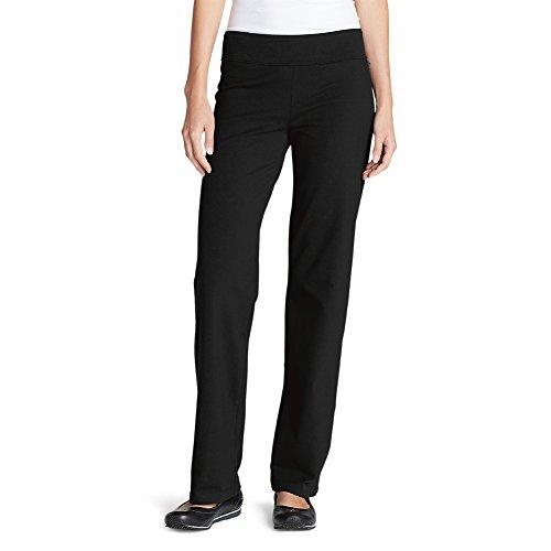 Eddie Bauer Women's Girl On The Go TransDry Pants, Black Regular XL ()