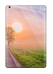 Awesome Design Landscape Road Hard Case Cover For Ipad Mini