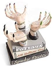 Heks Handen Snack Bowl Stand, Halloween Heks Handen Snack Bowl Stand - Hars Desktop Ornament Halloween Home Party Decoratie, Geschikt voor Festival Bruiloft Xmas Decor