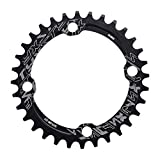 Bike Chainring, 32/34/36/38T BCD 104 Mountain Bike Single Speed Chainring Suitable for Most Bicycle Road Bike Mountain Bike