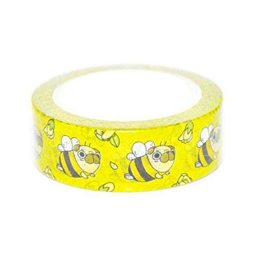 Pug Stationery - Pug Bee Pug Washi Tape