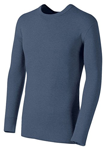 - Duofold by Champion Originals Wool-Blend Men's Thermal Shirt_Blue Jean_X-Large