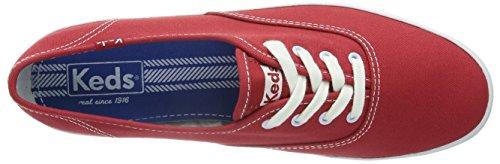 Keds Champion CVO - Zapatillas para mujer Rojo (Rot (Red))