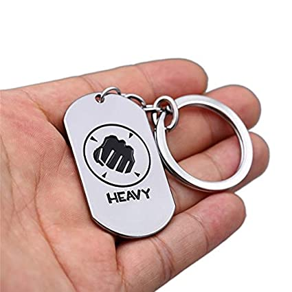 Amazon.com: Value-Smart-Toys - Game Team Fortress 2 Keychain ...