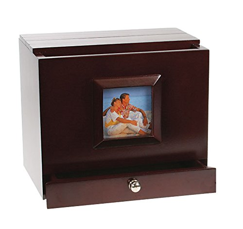 - Max Plus Wooden Photo Album Box with Side Frame