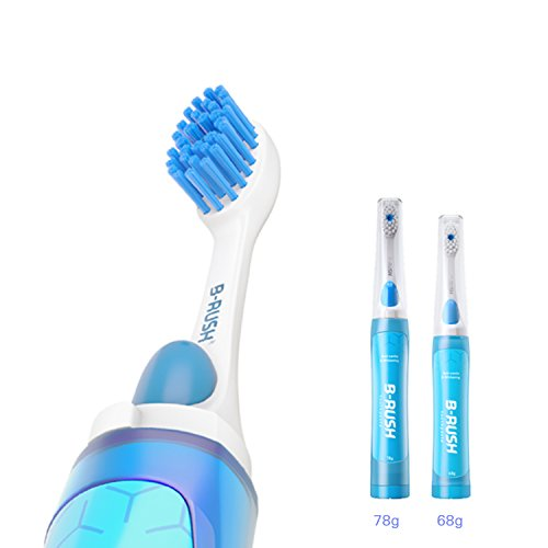 BASEEING B-RUSH Toothbrush with Toothpaste Inside and Water cup 3 in 1 Oral Care travel kit for Adults – Anti-cavity & Whitening for MS. (AC-68/MS)