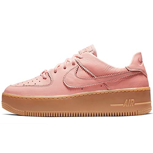 - Nike W Af1 Sage Low Lx Womens Sneakers AR5409-600, Washed Coral/Washed Coral, Size US 9
