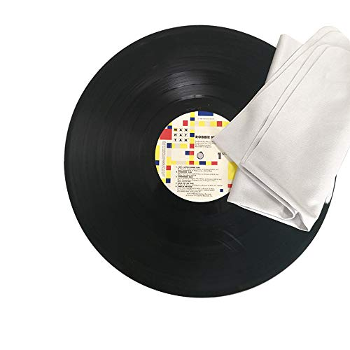 Record Cleaning Cloth Anti-Static Microfiber Lint Free for Vinyl LP Record,4 Pack 12