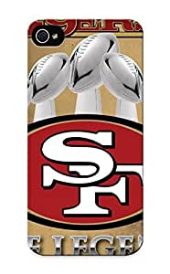 SmileShellfish Case For Iphone 5/5s With San Francisco 49ers, Nice Case For Thanksgiving Day's Gift