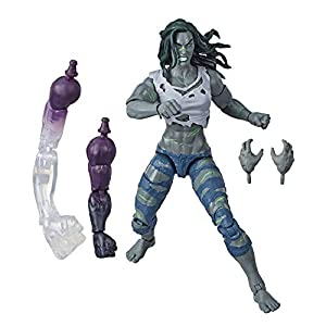 Hasbro-Marvel-Legends-Series-6-Collectible-Action-Figure-Hulk-Toy-Premium-Design-2-Accessories-2-Build-A-Figure-Parts