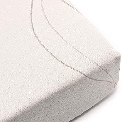 Wonder Dream Water Repellent Crib Mattress Protective Fitted Sheet, Organic Cotton, Hypoallergenic, 100% Breathable & Non Toxic