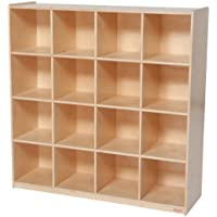 Wood Designs WD50916 (16) Big Cubby Storage, 49 x 48 x 15' (H x W x D)