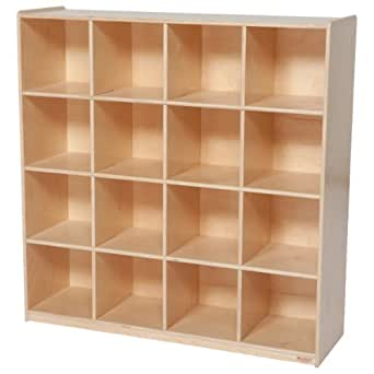 Amazon Com Wood Designs Wd50916 16 Big Cubby Storage