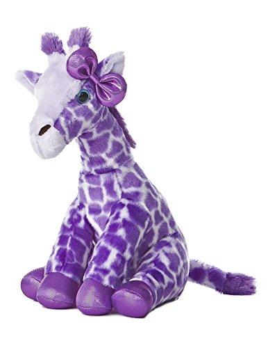 Aurora World Girlz Nation Purple Giraffe Plush, (Giraffe Stuffed Animal)