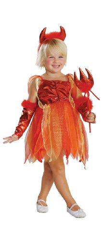 Cute  (Toddler Devil Costume Girl)