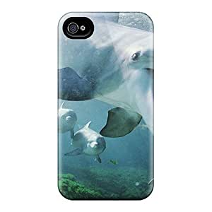 New Arrival Covers Cases With Nice Design Iphone 5/5S - Animals Dolphins