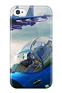 New Jet Fighter Tpu Skin Case Compatible With Iphone 4/4s