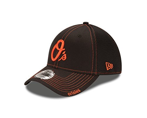 MLB Baltimore Orioles Neo, Black, LXL