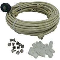 Flexible Misting Kit for the Patio-75 Ft of Tubing- 20 Nozzles