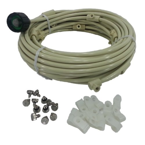 Parts Of A Patio Misting System : Patio misting kit brass stainless steel nozzle