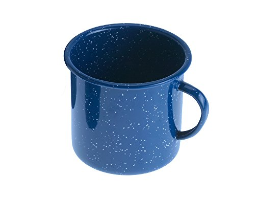 - GSI Outdoors Enamelware 42 fl. oz. Cup- Blue