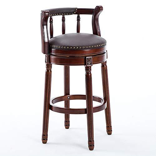 WYY Bar Chair, Kitchen Chair, rotatable bar Restaurant, Cafe bar Stool, Multi-Color Optional HPLL (Color : 4, Size : 4275cm) ()