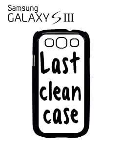 Last Clean Case Mobile Cell Phone Case Samsung Galaxy S3 White by mcsharks