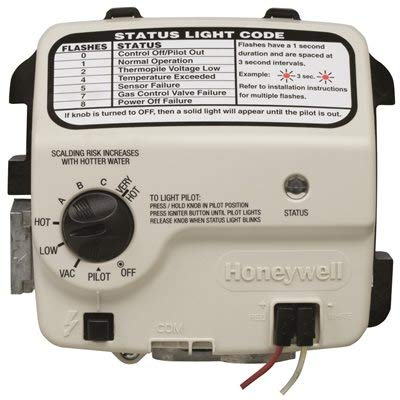 AMERICAN WATER HEATER GIDDS-110578 Honeywell Replacement Gas Valve Natural Gas 2