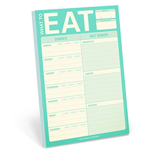 Knock Knock What to Eat Pad (Mint Green)
