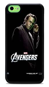 iPhone 5c Cases, The Avengers Flexible Snap-on Hard Flexible Case for Apple iPhone 5C Black