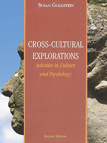 Cross-Cultural Explorations