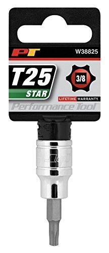 Performance Tool W38825 Dr T-25 Star Bit Socket