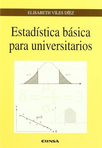Descargar Libro Estadística Básica Para Universitarios Elisabeth Viles Diez