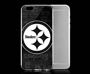 Light weight with strong PC plastic case for iphone 4 4s Sports & Collegiate NFL Pittsburgh Steelers Pittsburgh Steelers Black & White