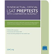 10 New Actual, Official LSAT PrepTests with Comparative Reading: (PrepTests 52–61) (Lsat Series)