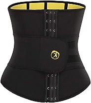 SEXYWG Women Waist Trainer Trimmer Sauna Slimming Body Shaper Cincher Weight Loss Control Belt