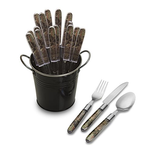 Mossy Oak 18 Piece Stainless Flatware product image